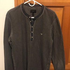 True Religion Henley-Style Shirt